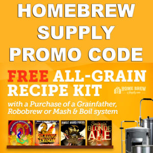 Get A FREE Beer Brewing Kit With Purchase of a GrainFather Home Brewing System