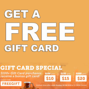 HomebrewSupply.com Promo Code and Coupon for a free homebrewing giftcard