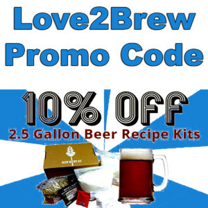 Love2Brew com Coupon Codes for September, 2019