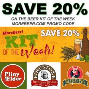 More Beer Promo Codes Beer Kit Of The Week