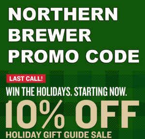 Northern Brewer Holiday Promo Code Gift