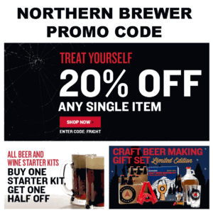 Promo Code for NorthernBrewer.com to Save 20% and get Free Shipping