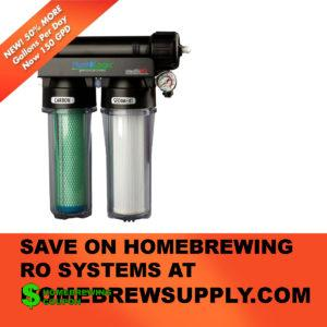 Homebrew Supply Reverse Osmosis Homebrewing System Promo Code
