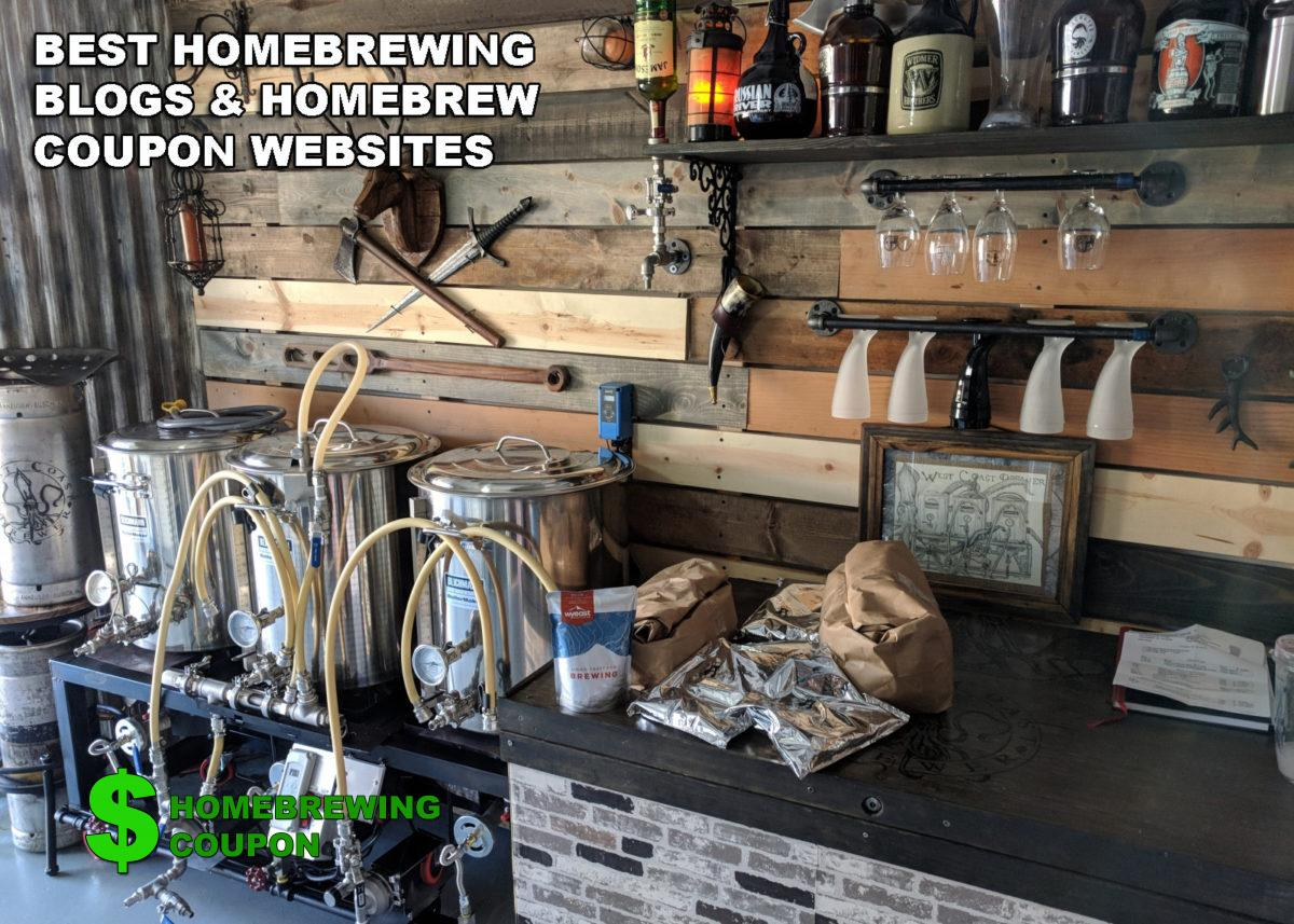 Best Homebrewing Blogs and Homebrew Coupon Websites