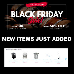 Black Friday Promo Codes For MoreBeer