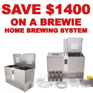 Morebeer.com Black Friday Promo Code, Save $1400 On A Brewie Home Beer Brewing System