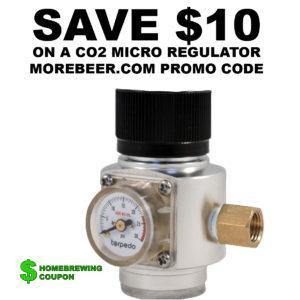 MOREBEER PROMO CODE CO2 REGULATOS