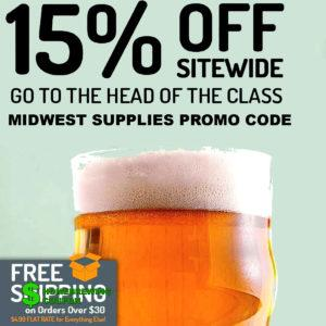 Midwest Supplies Homebrewing Promo codes