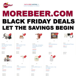 MoreBeer.com Black Fridays Coupons and Promo Codes