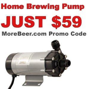 MoreBeer.com Homebrewing Pump Promo Code
