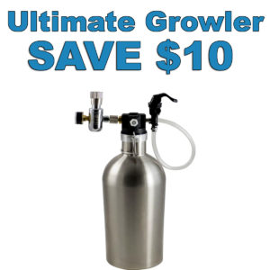 MoreBeer.com Promo Code for an Ultimate Beer Growler