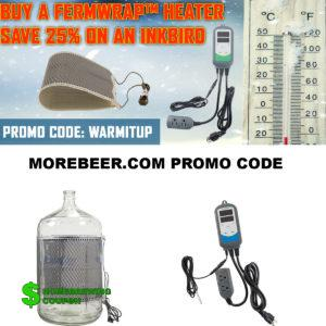 MoreBeer.com Promo Code for 25% Off An InkBird Temperature Controller