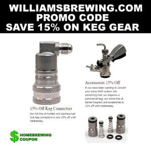 Williams Brewing Promo Code Save 15 Percent