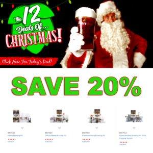 MoreBeer.com Christmas Promo Code - Day 1