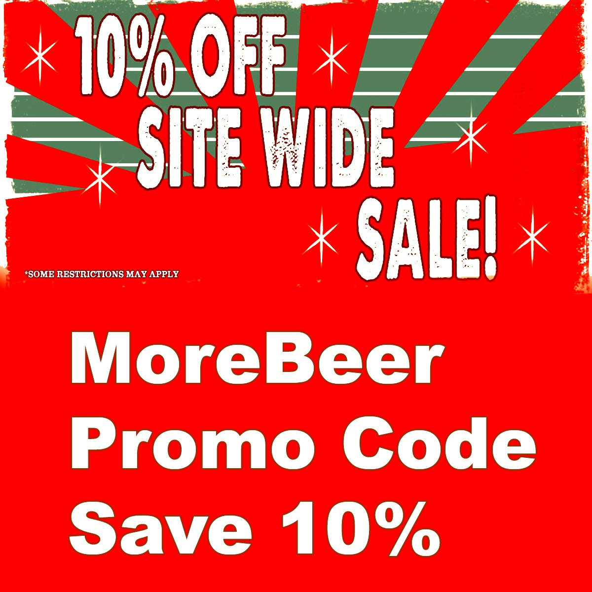 Save 10% Site Wide at MoreBeer.com With this More Beer Coupon