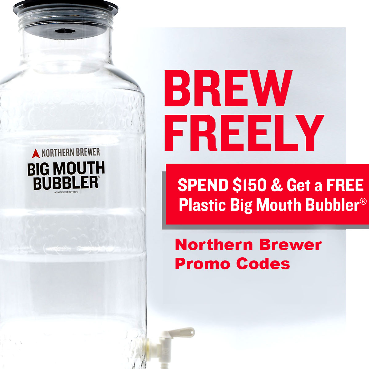 Get a Free Big Mouth Fermenter with this Northern Brewer Coupon