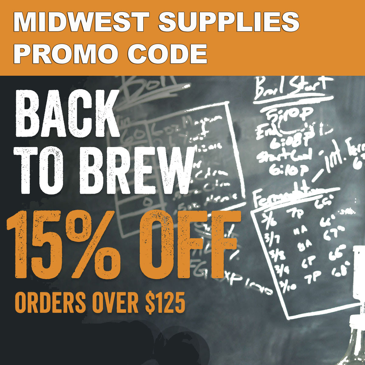 Homebrewing Promo Codes for Midwest Supplies - September 2019